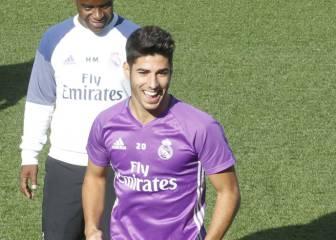Marco Asensio entretiene la espera por Cristiano Ronaldo