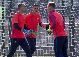 Lista del Barça: sin Cillessen pero con Ter Stegen y Gomes