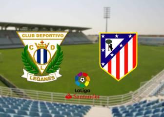 Leganés vs Atlético en directo