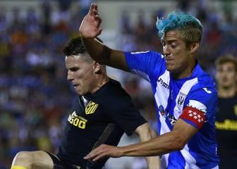 Leganés 0 - 0 Atlético: resumen y resultado y jugadas del partido