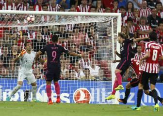 Athletic de Bilbao-Barcelona en imágenes