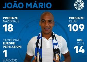 El Inter de Milán confirma el fichaje de Joao Mario
