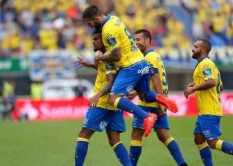 Las Palmas 5 - 1 Granada: resumen, resultado y goles