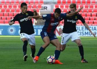 El Nástic salva un punto ante un Huesca que mereció más