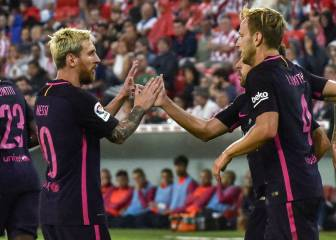 El Barça gana en el alambre
