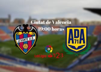 Levante vs Alcorcón: Resumen, resultado y goles del partido