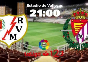 Rayo Vallecano 0 - 0 Valladolid: resumen, resultado y goles