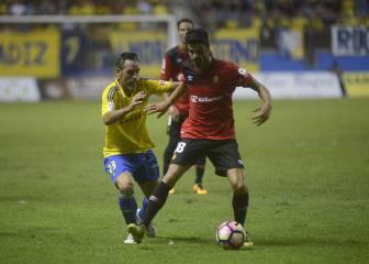 Cádiz 1 - 1 Mallorca: resumen, resultado y goles del partido