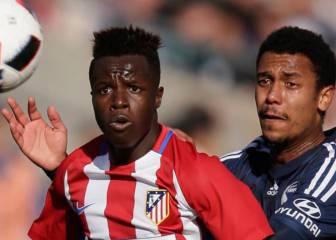 El Atlético cede al atacante Amath N'Diaye al Tenerife