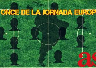 El equipo ideal americano de la jornada en las ligas europeas