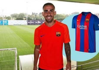 El Barcelona ya sortea camisetas de Paco Alcácer en su web
