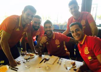 Los madridistas de la Selección: