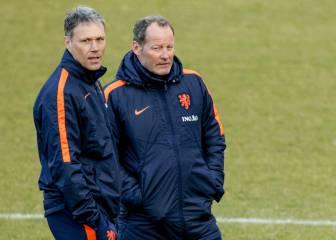 Van Basten dejará el cuerpo técnico holandés a final de año