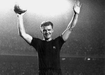 30-A: Kubala se despide del Barcelona homenajeado (1961)