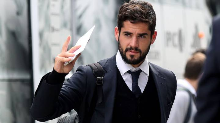 Isco sólo saldría para irse al Málaga o al Tottenham cedido