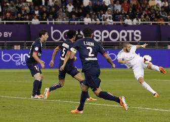 El PSG prepara una oferta por Benzema si Cavani se marcha