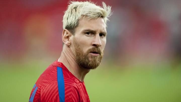 Messi desoyó la recomendación del Barça y viajó a Argentina