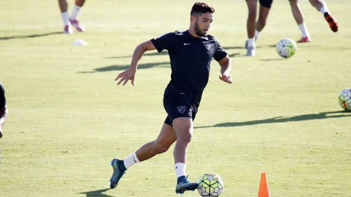 El Málaga acuerda la cesión de Tighadouini al Vitesse