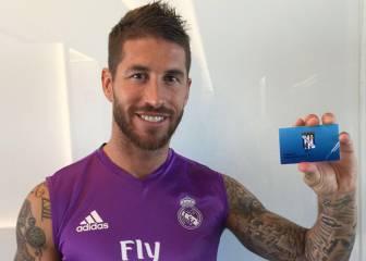 Los jugadores del Real Madrid se
