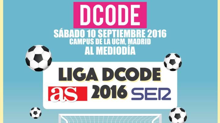 Participa en el concurso para jugar la Liga DCODE AS-SER