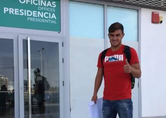 El Elche devuelve al delantero Asdrúbal a Las Palmas