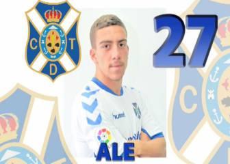 El Tenerife confirma la cesión de Ale González al Mensajero