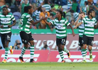 El Sporting, líder en Portugal