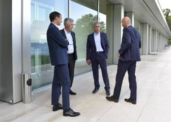 Zidane, elogiado en Nyon ante Mourinho, Benítez y Luis Enrique