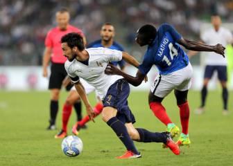 Italia vs Francia otros amistosos internacionales: resultado, resumen y goles