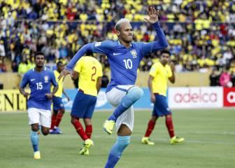 Ecuador 0 - 3 Brasil: Resumen, goles y clasificación Mundial 2018