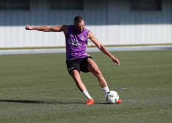 Benzema ya tira a puerta y está eufórico: