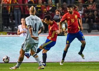 1x1: a Silva le sobra la magia y a Diego Costa le falta el gol