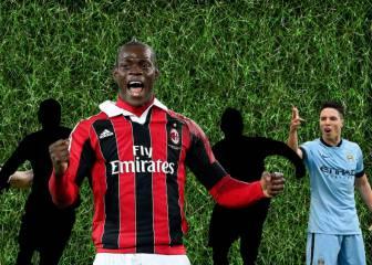 5 futbolistas en busca de una segunda oportunidad