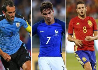 7 atléticos tuvieron minutos en la jornada internacional