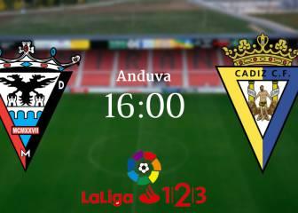 Mirandés 3 - 2 Cádiz: resumen, resultado y goles