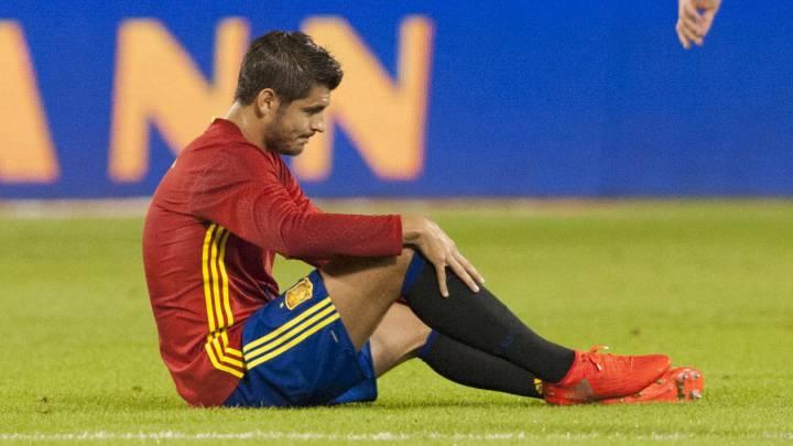 Morata sigue con España y podría jugar ante Liechtenstein