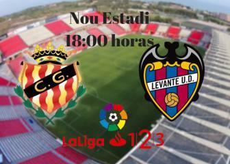 Nástic 1 - 1 Levante: resumen, resultado y goles del partido