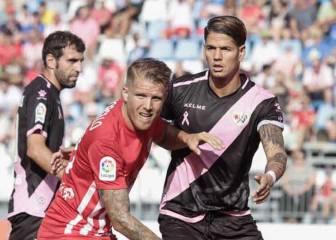 El Rayo descarrila en Almería y suma un punto de 9 posibles