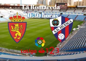 Zaragoza 1 - 0 Huesca: resumen, resultado y goles