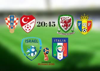 Israel vs Italia y el resto de la clasificación para Rusia 2018: Resultado, resumen y goles