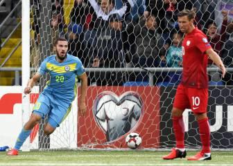 Polonia se dejó remontar un 2-0 en seis minutos ante Kazajstán