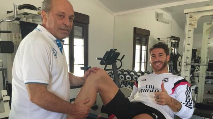 Sergio Ramos se lleva a la Selección al masajista de Raúl