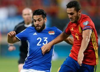 España 8 - 0 Liechtenstein: resumen, resultado y goles