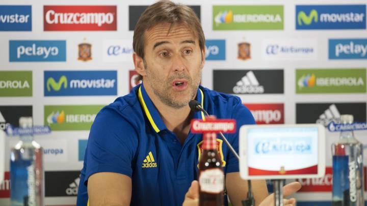 "Lopetegui: ""A Diego Costa le queremos como es..."""