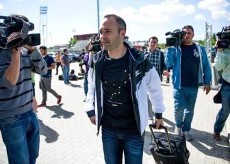 Iniesta ve cerca su regreso: 'La rodilla va bien, dando pasos'