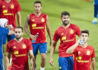 Diego Costa sale esta noche a romper su gafe con España