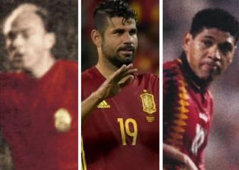 Los 11 nacionalizados con más partidos en la Selección