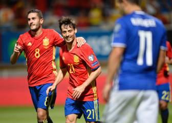 Silva: 28 goles y es el quinto goleador de la Selección