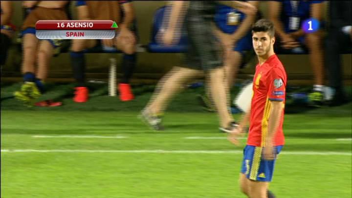 Asensio debutó en partido oficial y ya no podrá jugar con Holanda
