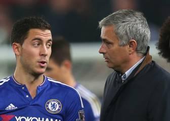Dardo de Hazard a Mourinho